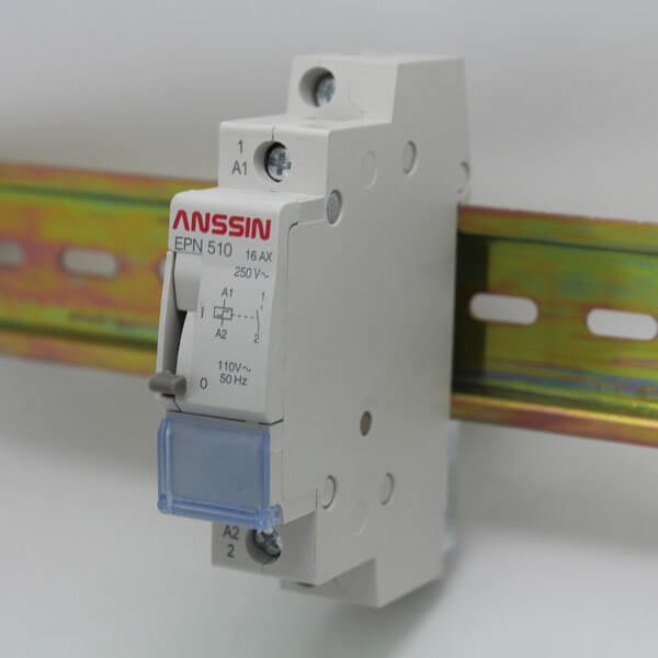 impulse latching relay